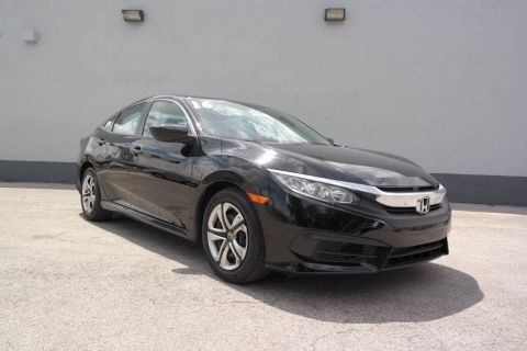 Pre-Owned 2016 Honda Civic Sedan LX FWD 4dr Car