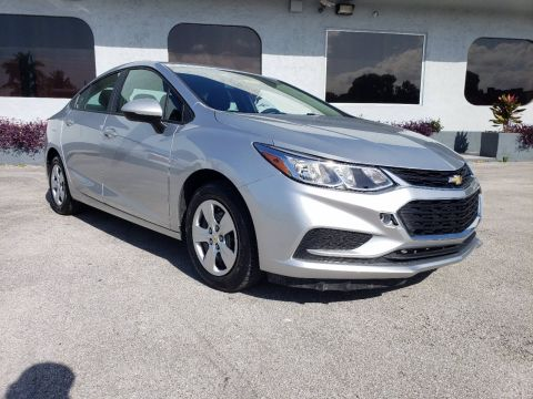 Pre-Owned 2017 Chevrolet Cruze LS FWD 4dr Car