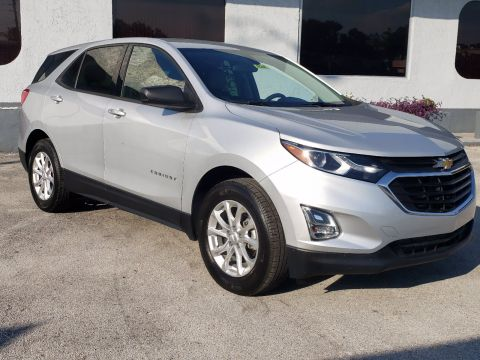 Pre-Owned 2018 Chevrolet Equinox LS FWD Sport Utility