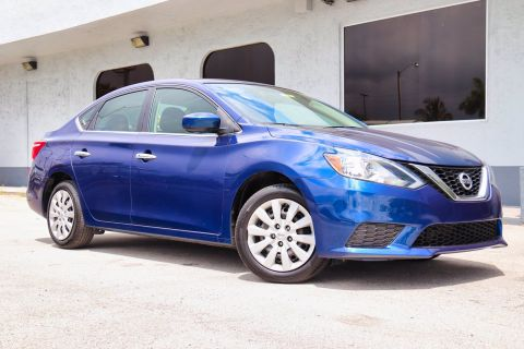 Pre-Owned 2016 Nissan Sentra SV FWD 4dr Car