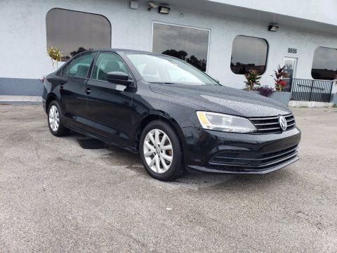 Pre-Owned 2015 Volkswagen Jetta Sedan 1.8T SE FWD 4dr Car