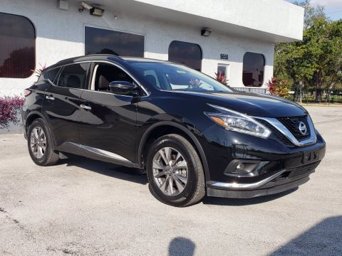 Pre-Owned 2018 Nissan Murano SV AWD Sport Utility