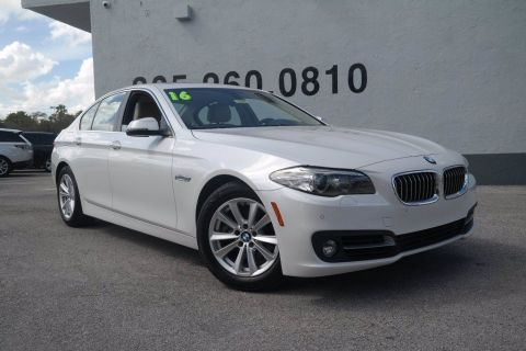 Pre-Owned 2016 BMW 5 Series 528i RWD 4dr Car