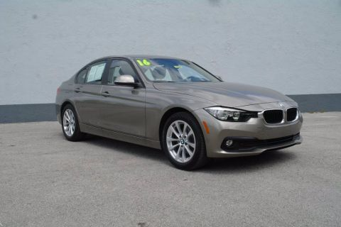 Pre-Owned 2016 BMW 3 Series 320i RWD 4dr Car